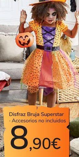 Oferta de Disfraz Bruja Superstar por 8,9€