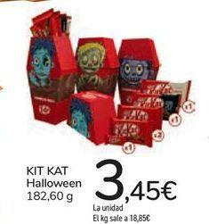Oferta de KIT KAT HALLOWEEN por 3,45€