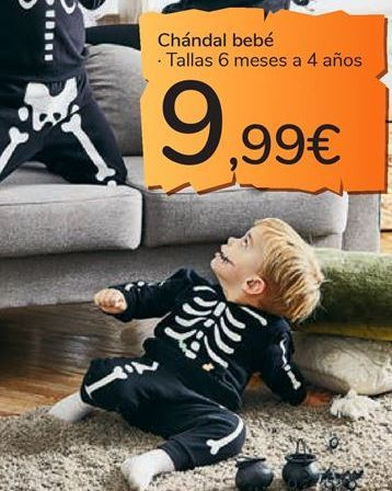 Oferta de Chándal bebé por 9,99€