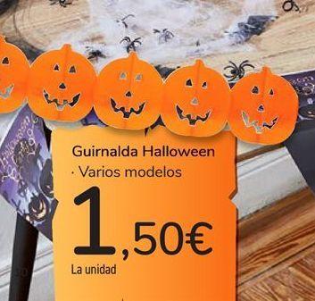 Oferta de Guirnalda Halloween por 1,5€