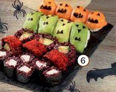 Oferta de Bandeja Sushi Especial Halloween por 12,95€