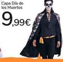 Oferta de Capa Día de los Muertos por 9,99€