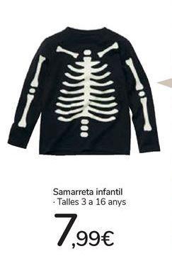 Oferta de Camiseta infantil por 7,99€