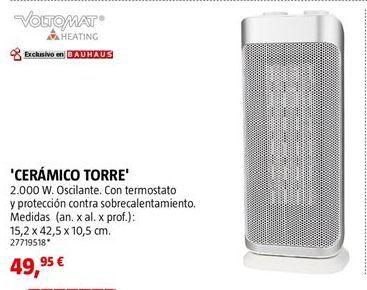 Oferta de Calefactor cerámico por 49,95€
