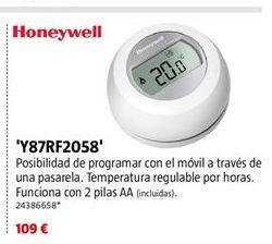 Oferta de Termostato Honeywell por 109€