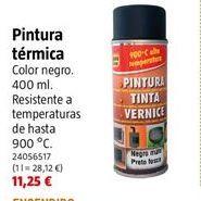 Oferta de Pintura térmica por 11,25€