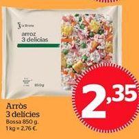 Oferta de Arroz tres delicias por 2,35€