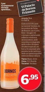 Oferta de Vino blanco Palacio de Bornos por 6,95€