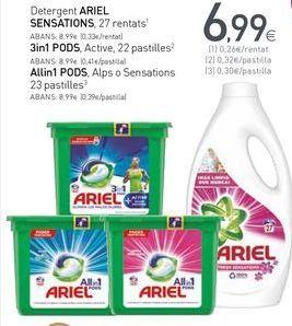 Oferta de Detergente Ariel por 6,99€