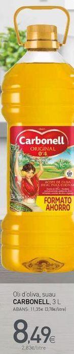 Oferta de Aceite de oliva Carbonell por 8,49€