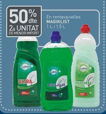 Oferta de Detergente lavavajillas por