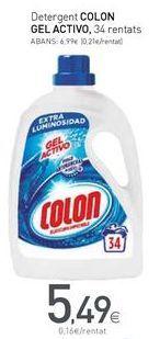 Oferta de Detergente gel Colon por 5,49€