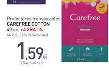 Oferta de Protegeslip Carefree por 1,59€