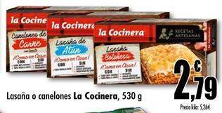 Oferta de Lasaña La Cocinera por 2,79€