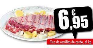 Oferta de Costillas de cerdo Unide por 6,95€