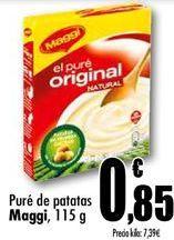 Oferta de Puré de patatas Maggi por 0,85€