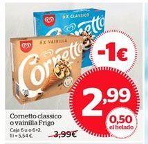 Oferta de Cornetto Frigo por 2,99€