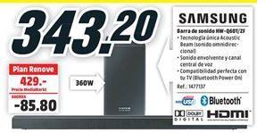 Oferta de Barra de sonido Samsung por 343,2€