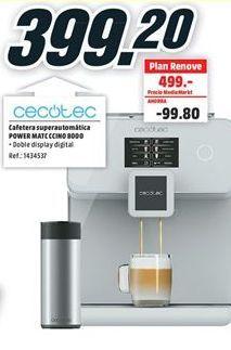 Oferta de Cafetera superautomática cecotec por 399,2€