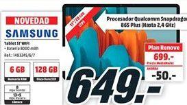 Oferta de Tablet Samsung por 649€