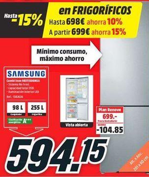 Oferta de Combi display digital Samsung por 594,15€