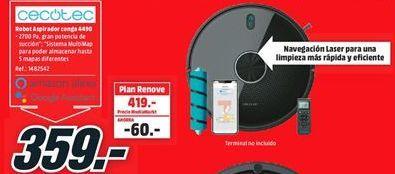Oferta de Robot aspirador cecotec por 359€