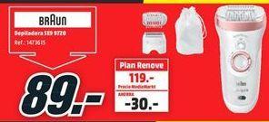 Oferta de Depiladora Braun por 89€