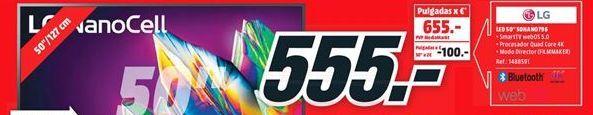 Oferta de Tv led 50'' LG por 555€