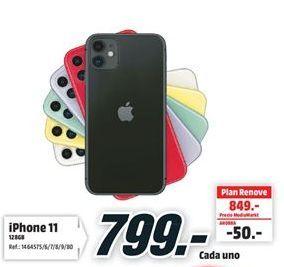 Oferta de IPhone 11 por 799€