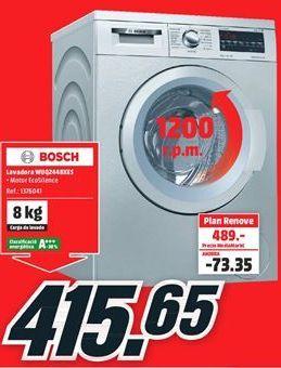 Oferta de Lavadora carga frontal Bosch por 415,65€