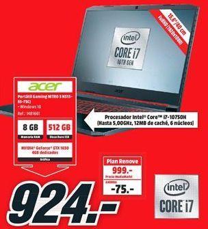 Oferta de Ordenador portátil Acer por 924€