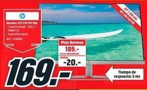Oferta de Monitor HP por 169€