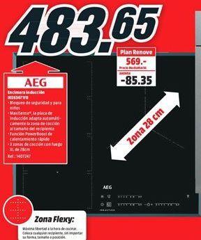 Oferta de Encimera de cocina AEG por 483,65€