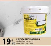 Oferta de Pintura antimoho por 19,95€