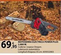Oferta de Motosierra eléctrica por 69,95€
