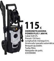 Oferta de Hidrolimpiadora Power plus por 115€