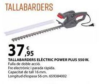 Oferta de Cortasetos Power plus por 37,95€