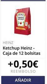Oferta de Ketchup Heinz  por
