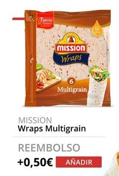 Oferta de Wraps Multigrain MISSION  por