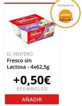 Oferta de El Ventero Fresco sin Lactosa  por