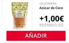 Oferta de Azúcar de Coco Azucarera  por
