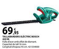Oferta de Cortasetos Bosch por 69,95€