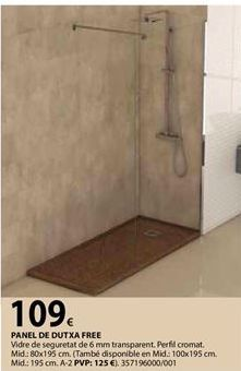 Oferta de Panel de ducha por 109€