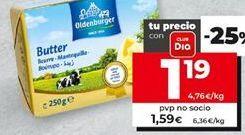 Oferta de Mantequilla Oldenburger por 1,19€