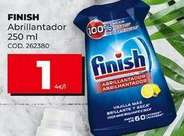 Oferta de Abrillantador Finish por 1€