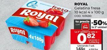 Oferta de Gelatina Royal por 1,65€