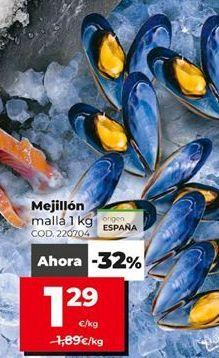 Oferta de Mejillones por 1,23€