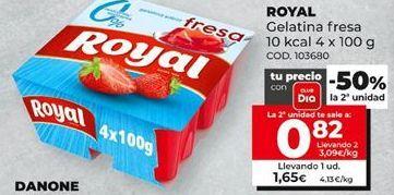 Oferta de Gelatina Royal por 0,82€