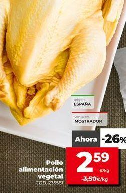 Oferta de Pollo por 2,59€