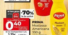 Oferta de Mostaza Prima por 1,35€